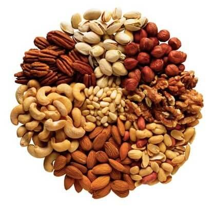 Best nuts for the Mediterranean diet
