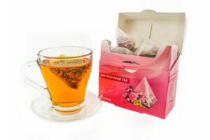 Buy Saffron and rose Tea