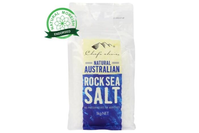Natural Australian Rock Sea Salt-Natural Moreish