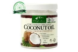 Organic Coconut Oil Extra Virgin & Unrefined