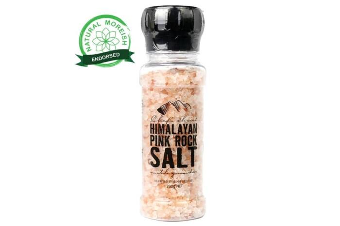 Pink Rock Salt with Grinder-Natural Moreish