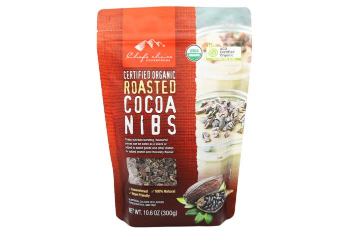 Organic Roasted Cocoa Nibs-Natural Moreish