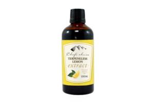 Pure Terpeneless Lemon Extract-Natural Moreish