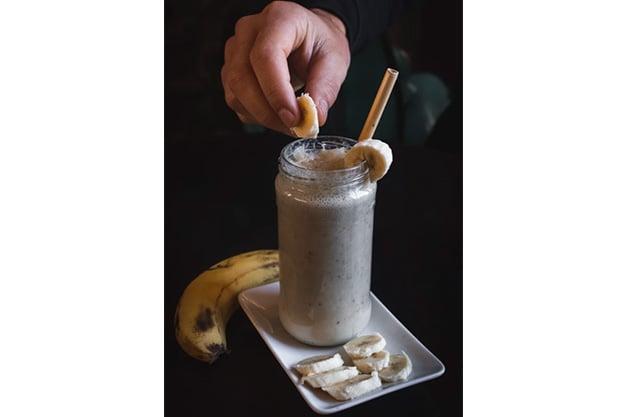 banana cacao smoothie