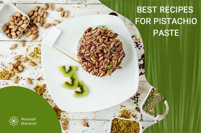 recipes for pistachio paste