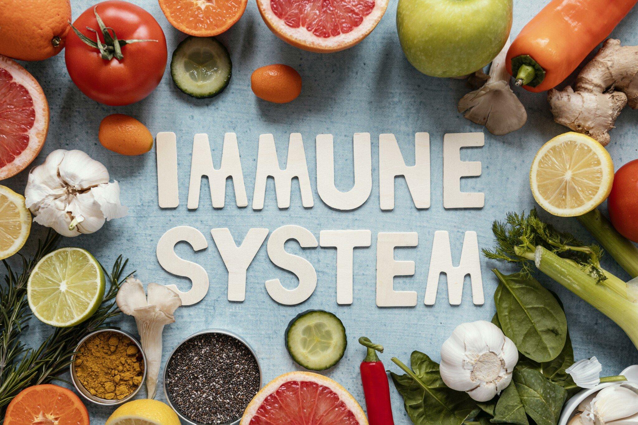 25 immune system boosting foods